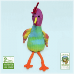 Organic Stuffed Tie Dye Chicken