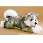 Kodiak The Stuffed Husky Dog