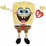 TY Beanie Babies 8&quot; Spongebob Best Day Ever
