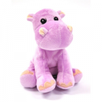 Purplish Baby Stuffed Hippo